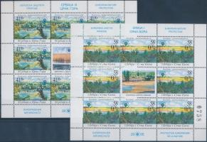 European nature protection minisheet set, Európai természetvédelem kisív sor