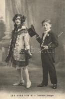 Les Henry-Etts, Duettist prodiges / circus acrobats, Cirkuszi akrobaták