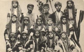 Arabisches Jungvolk / Arabian students, folklore, Arab diákok, folklór