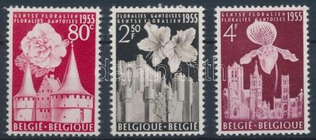 1955 Virág sor Mi 1010-1012