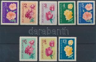 1962 Rózsák sor Mi 1300-1307