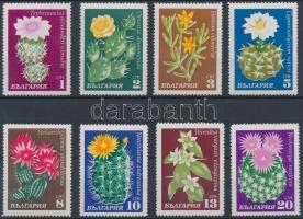 1970 Virágok: Kaktuszok sor Mi 1991-1998