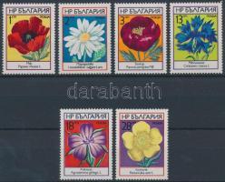 1973 Virágok sor Mi 2234-2239