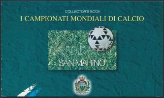 Football World Cup, France stamps booklet, Labdarúgó VB, Franciaország bélyegfüzet