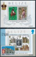 Queen Elizabeth II block set, II. Erzsébet trónralépésének 25. évfordulója blokksor
