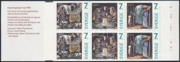 1997 Europa CEPT, mondák és legendák bélyegfüzet MH 228 (Mi 2001-2003)