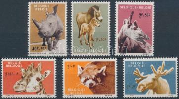 1961 Állatok sor Mi 1242-1247