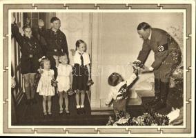 Hitler, children
