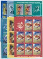 2009 Védett állatok kisív sor Mi 6379-6384
