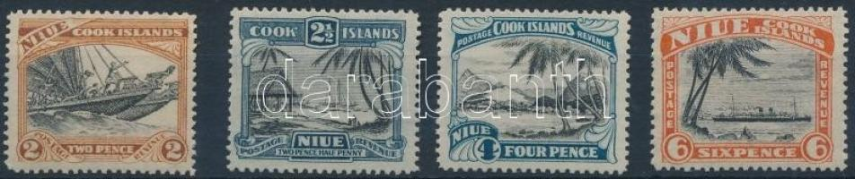 1932 4 klf forgalmi érték Mi 40-43