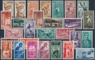 1952-1965 28 db bélyeg közte teljes sorokkal 1952-1965 28 stamps with sets