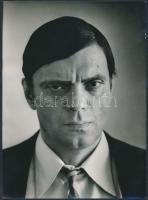 cca 1970-1987 Földes László, HOBÓ átváltozásai, 3 db vintage fotó, kettő pecséttel jelzett, a harmadik feliratozott, 13x18 cm és 24x18 cm