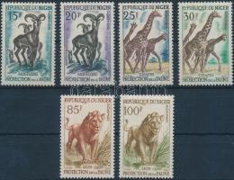 1959 6 klf Állat bélyeg Mi 5-8, 11-12