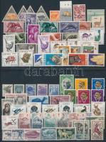 Animals 72 stamps, Állat motívum 72 db bélyeg közte teljes sorok 2 stecklapon
