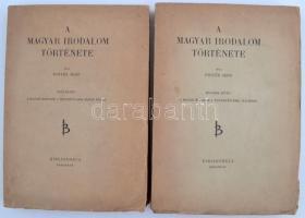 Pintér Jenő: A magyar irodalom története. Bp., 1942, Bibliotheca (Franklin Nyomda). Második kiadás. Kiadói felvágatlan papírkötésben.