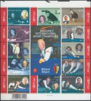 Sport - Billiards mini sheet, Sport - Billiárd kisív