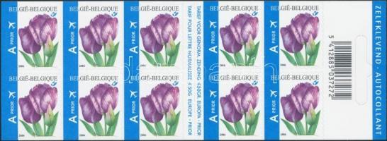 Flower self-adhesive stamp-booklet, Virág öntapadós bélyegfüzet
