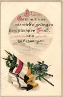 Német zászlók, E.A.S. K. 604. litho, German flags, E.A.S. K. 604. litho