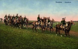 1914 Grenzbesetzung, Kavallerie, Cavallerie / WWI Swiss Cavalry, 1914 Határvédelmet ellátó svájci lovasság