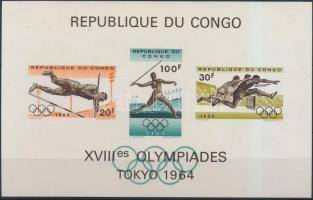 1964 Nyári Olimpia blokk Mi 5