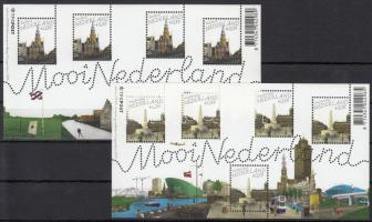 Nice Netherlands minisheet set, Szép Hollandia kisívsor