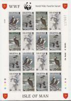 1989 WWF: Vízimadarak kisív Mi 408-411