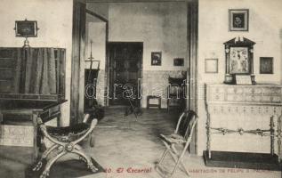 Madrid, El Escorial, Habitation de Felipe II / residence, interior