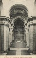 Madrid, El Escorial, Interior of the temple, major altar