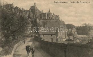 Luxembourg, Neuenweg / road