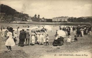 San Sebastian, beach
