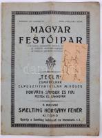 1937 A Magyar Festőipar. A festő céh hivatalos lapja. 3. szám. 10p.