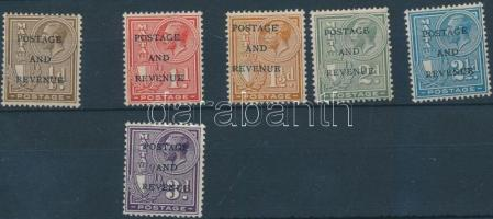 1928 Forgalmi sor 6 értéke