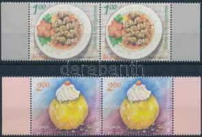 2008 Helyi ételek sor ívszéli párokban Mi 510-511