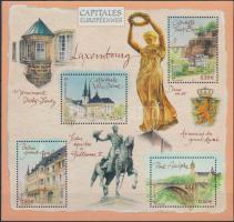 Europe's capitals, Luxembourg block, Európa fővárosai, Luxemburg blokk