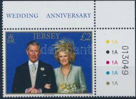 2006 Károly herceg és Kamilla első házassági évfordulója Mi 1231
