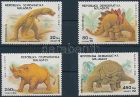 1989 Dinoszaurusz sor Mi 1172-1175