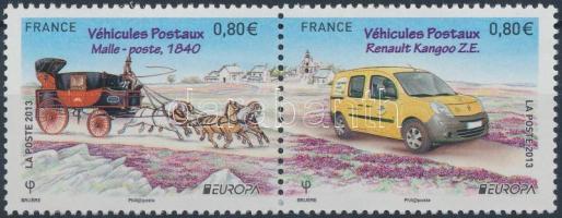 2013 Europa CEPT: Postajárművek sor Mi 5579-5580