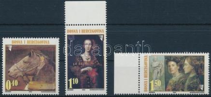2002 Festmény sor Mi 290-292
