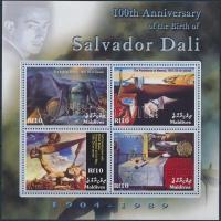 2004 Salvador Dalí blokk Mi 568