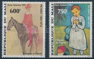 1981 Picasso: Festmény sor Mi 876-877