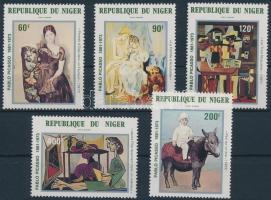 1981 Picasso: Festmény sor Mi 752-756