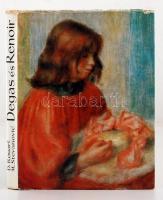 Denis Rouart, Momcilo Stevanovic: Ismeretlen Degas és Renoir művek. Belgrad, 1964, Jugoslavija. Kiadói egészvászon-kötésben.
