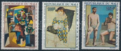 1967 Picasso: Festmény sor Mi 146-148