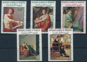 1967-1968 Ingres: Festmény (I-II) sor Mi 323-324 + 344-346
