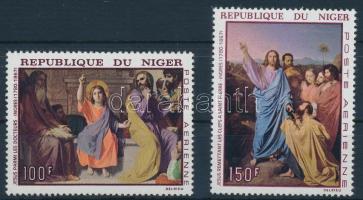 1967 Ingres: Festmény sor Mi 170-171