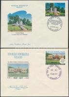 1961-1977 7 diff FDC 1961-1977 7 klf FDC