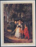 1977 Rubens festmény blokk Mi 20