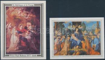 1978-1979 Festmények blokk Mi 19,22