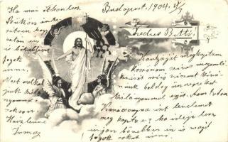 Jesus with angels