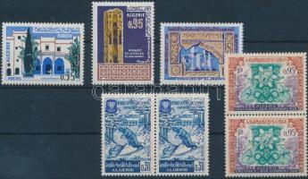 1967 Művészet sor és Téli Olimpia sor párokban Mi 471-473,485-486